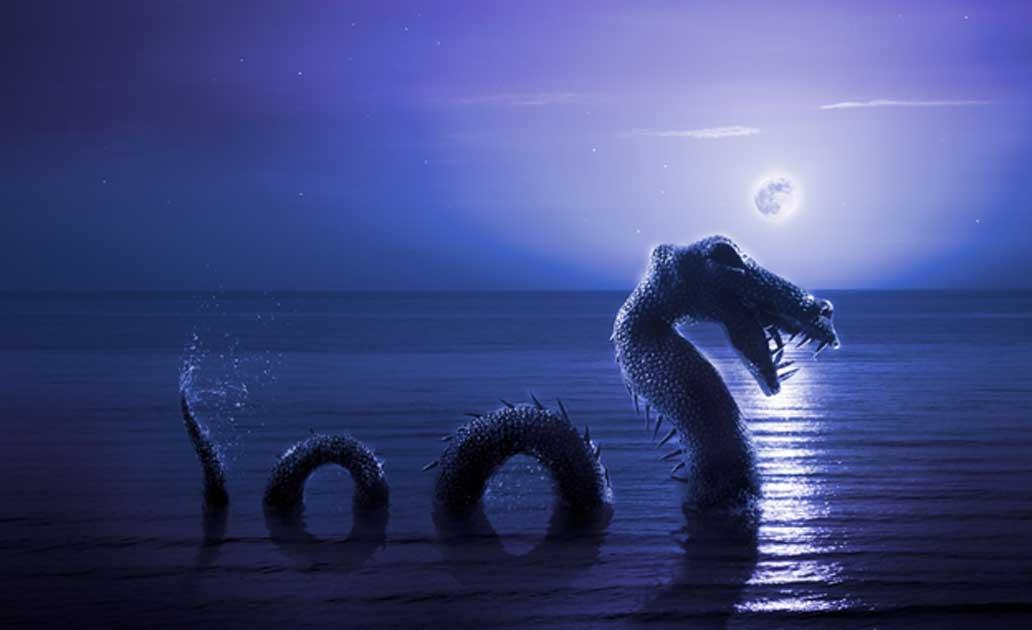 Legenda Naga di Danau Brosno Rusia
