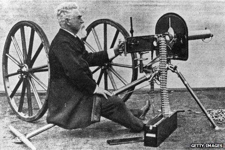 Machine Gun Buatan Cantel