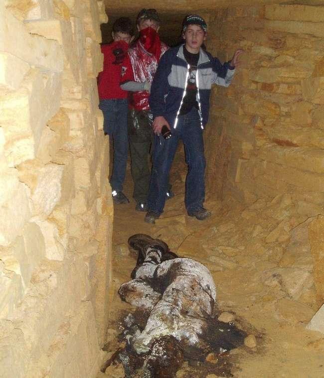 Penemuan Mayat di Odessa Catacombs