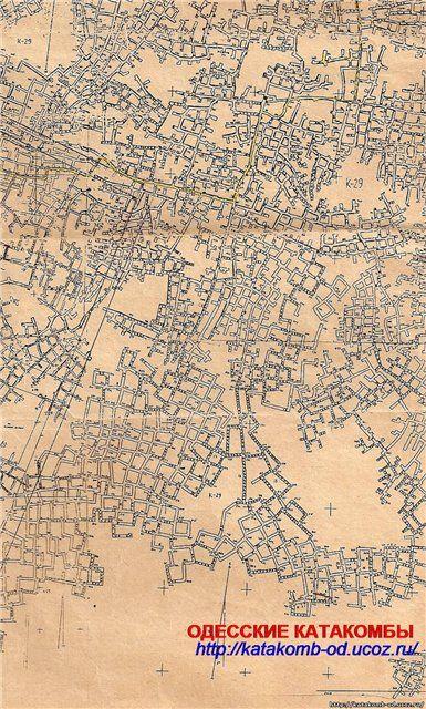 Peta Sementara Katakomba Odessa