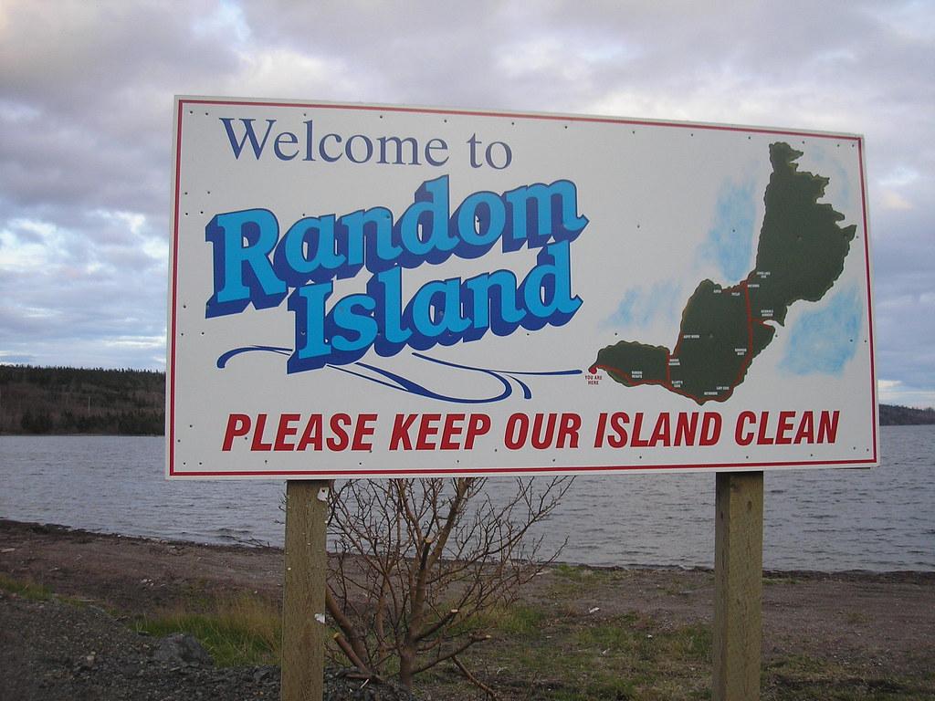 Random Island di Trinity Bay
