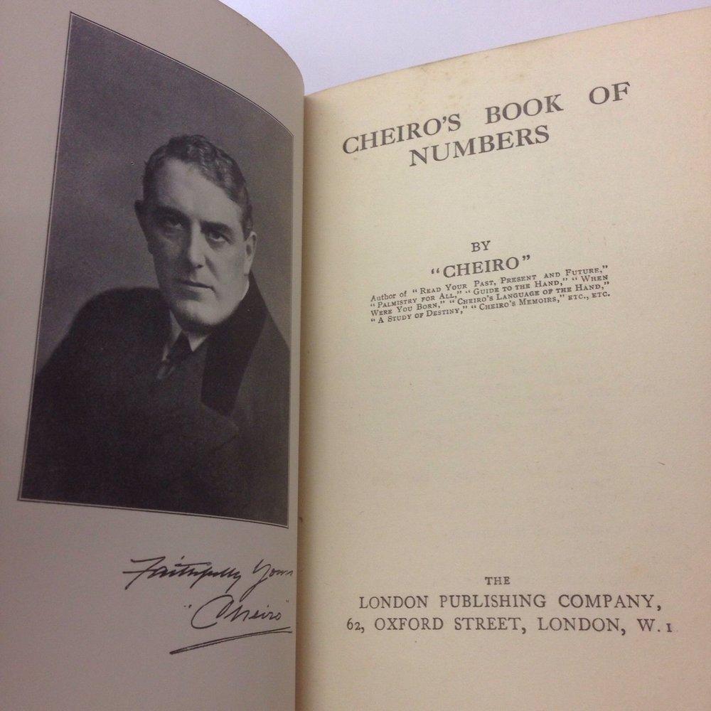 Salah Satu Buku Cheiro