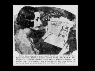 Misteri Hilangnya Agnes Tulfverson