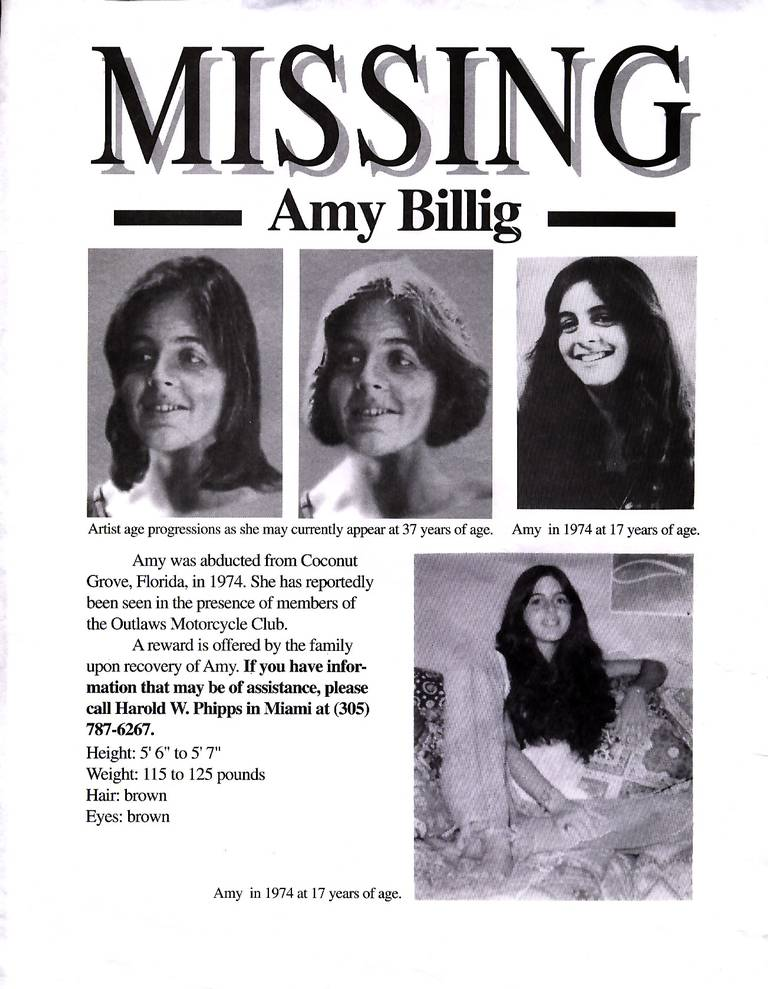 Perubahan Umur Amy Billig