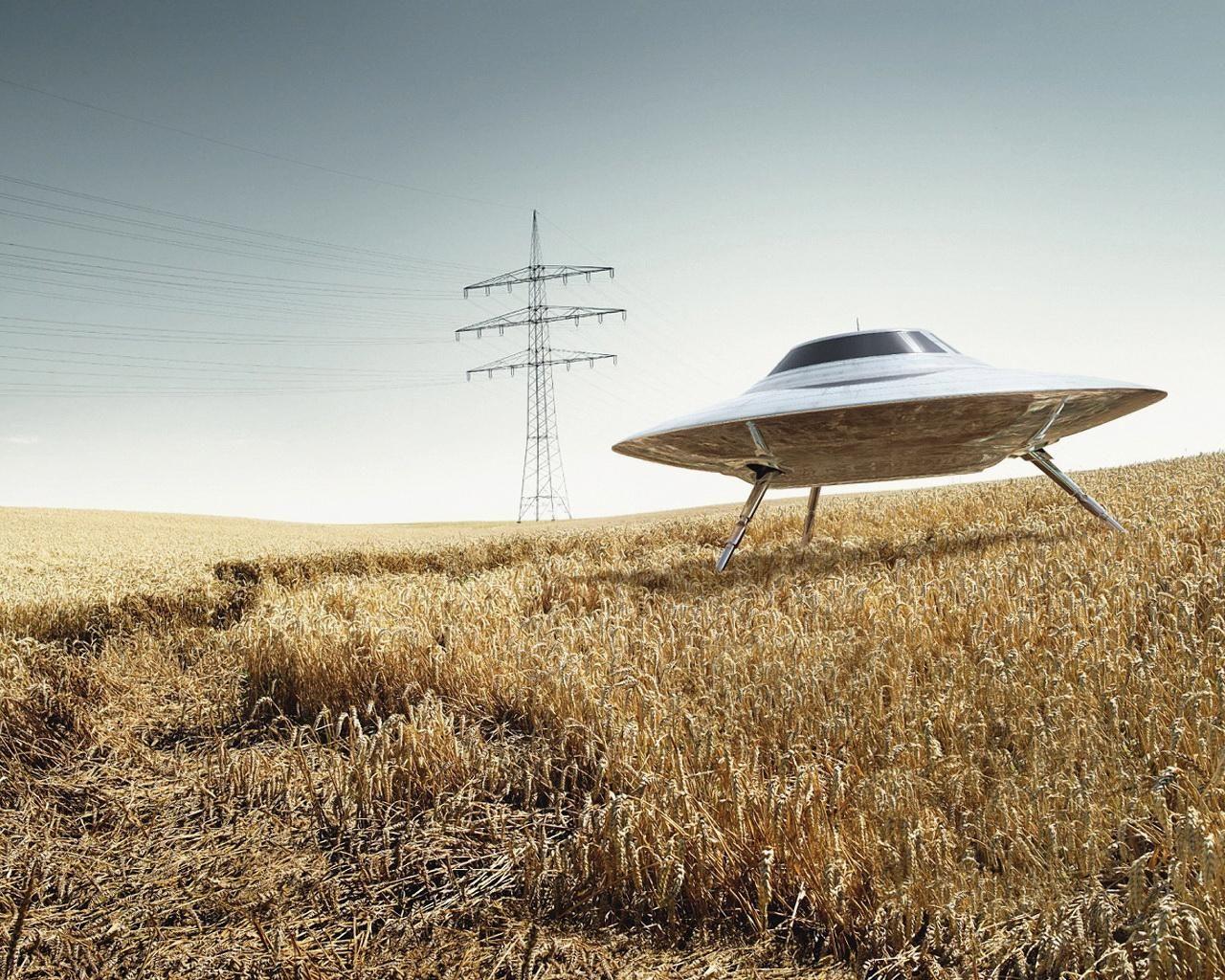 UFO di Pangkalan Angkatan Udara Edwards.