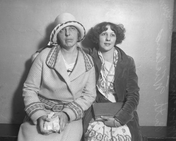 May Otis Blackburn dan putrinya Ruth Wieland Rizzio
