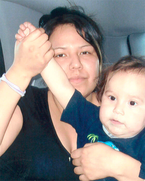 Amber Tuccaro dan Anaknya