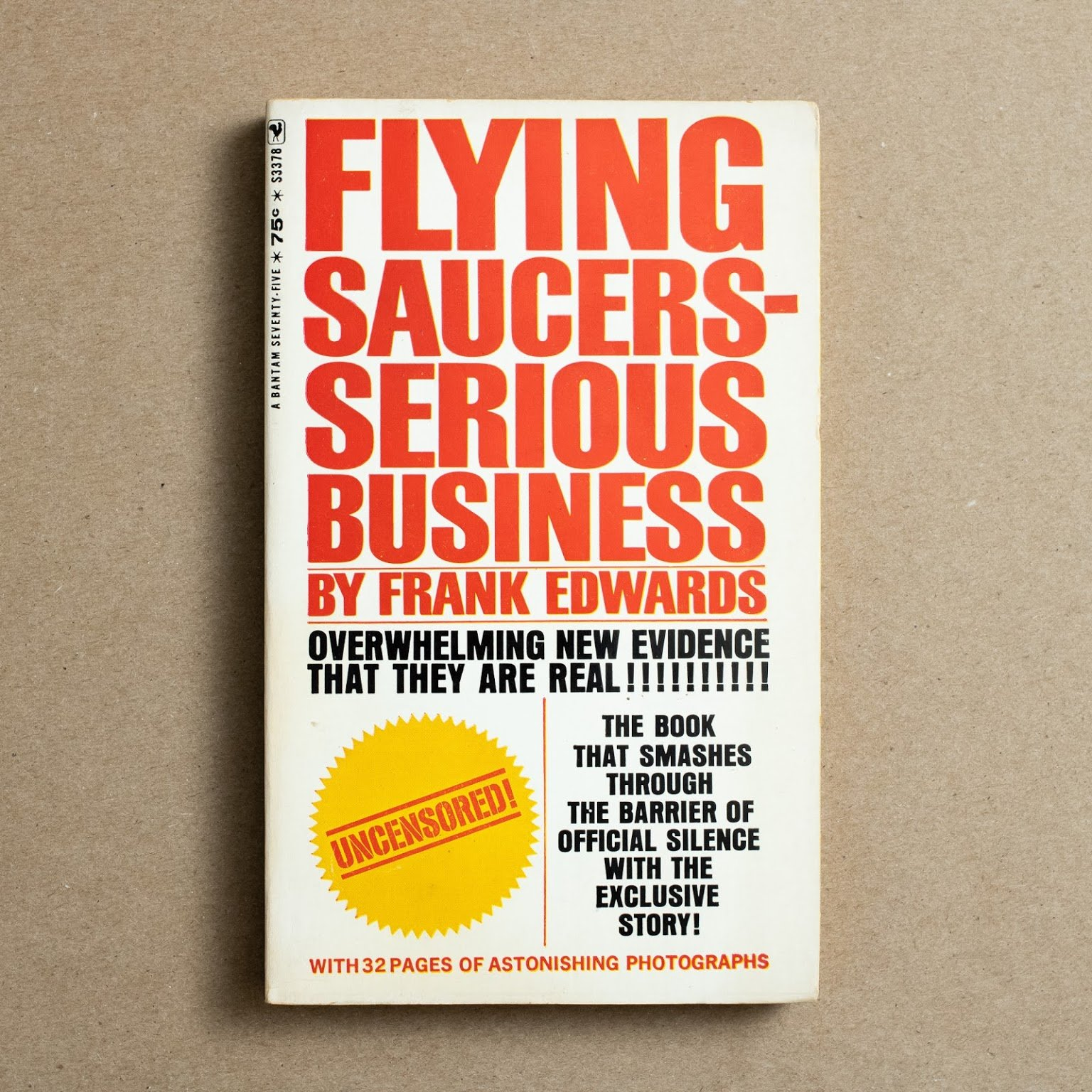 Flying Saucers—Serious Business