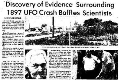 Fenomena UFO di Tahun 1897