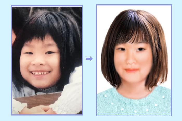 Yuki Saat Umur 5 Tahun Dan Sekarang Jika Masih Hidup
