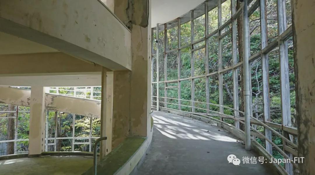Teras Rumah Sakit Yubetsu