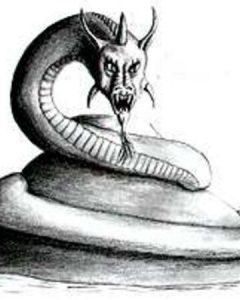Ilustrasi Lambton Worm
