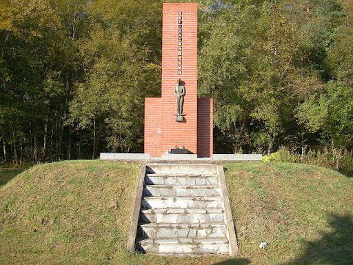 Monumen Untuk Para Pekerja Terowongan Jomon
