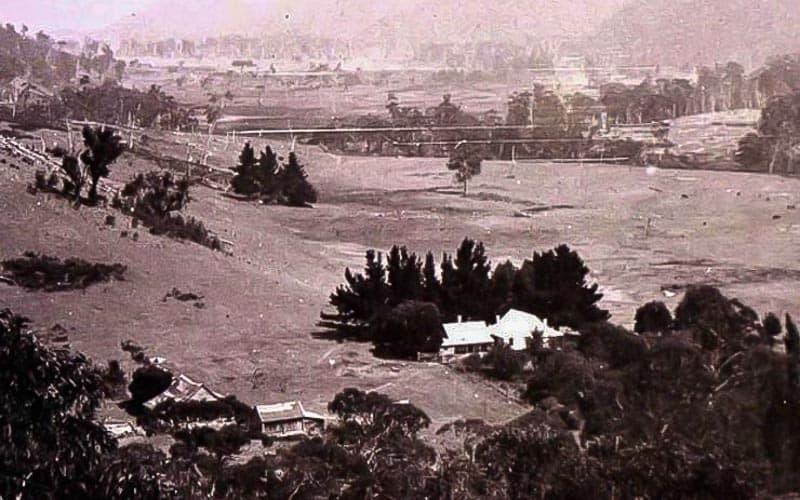 Pemandangan Stasiun Wonnangatta