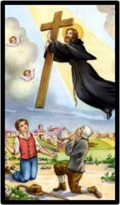Santo Joseph Membantu Memasang Salib